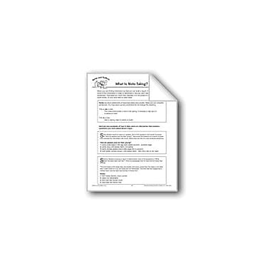 Evan-Moor Educational Publishers Notes and Outlines: What Is Note-Taking? Language Arts Workbook, Grade 4 - Grade 6 [eBook]