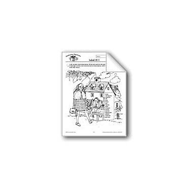 Evan-Moor Educational Publishers Dictionary Dynamics: Label It! Language Arts Workbook, Grade 4 - Grade 6 [eBook]