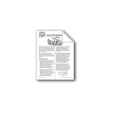 Evan-Moor Educational Publishers Create A Class Newspaper Language Arts Workbook, Grade 4 - Grade 6 [eBook]