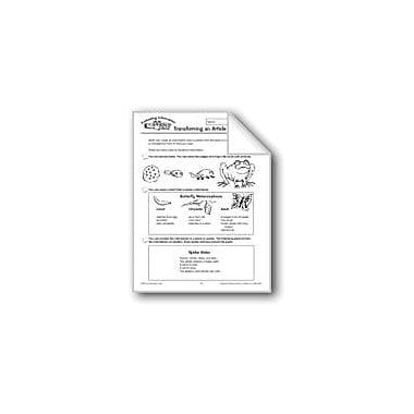Evan-Moor Educational Publishers Evaluating Information: Transforming An Article Workbook, Grade 4 - Grade 6 [eBook]
