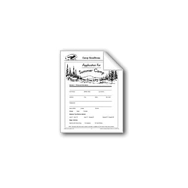 Evan-Moor Educational Publishers Forms and Applications: Camp Goodtimes Language Arts Workbook, Grade 4 - Grade 6 [eBook]