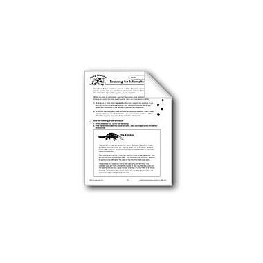 Evan-Moor Educational Publishers Finding Information: Scanning For Information Language Arts Workbook, Grade 4 - Grade 6 [eBook]
