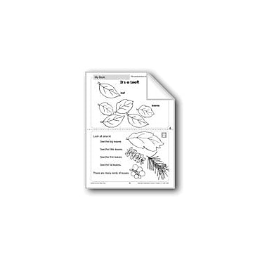 Evan-Moor Educational Publishers It's A Leaf (Life Science/Plants) Language Arts Workbook, Grade 1 - Grade 2 [eBook]