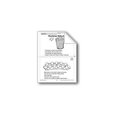 Evan-Moor Educational Publishers Muscleman Molecules (Physical Science/Matter, Water) Workbook, Grade 1 - Grade 2 [eBook]