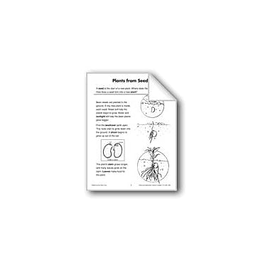 Evan-Moor Educational Publishers Plants From Seeds (Life Science/Life Cycle) Language Arts Workbook, Grade 2 - Grade 3 [eBook]