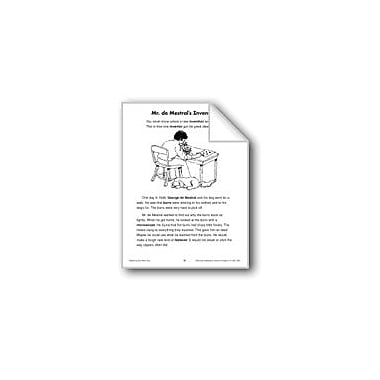Evan-Moor Educational Publishers Mr. De Mestral's Invention (Science & Technolgy/Inventions) Workbook, Grade 2 - Grade 3 [eBook]