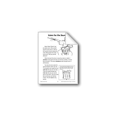 Evan-Moor Educational Publishers Listen For the Sounds (Physical Science/Sound) Workbook, Grade 2 - Grade 3 [eBook]