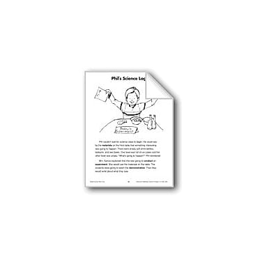 Evan-Moor Educational Publishers Phil's Science Log (Physical Science/Air, Experiments) Workbook, Grade 2 - Grade 3 [eBook]