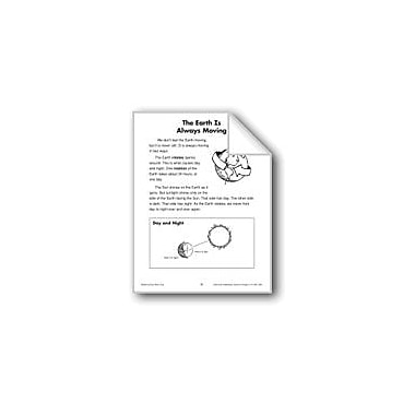 Evan-Moor Educational Publishers The Earth Is Always Moving (Earth & Space Science/Rotation, Revolution) Workbook [eBook]