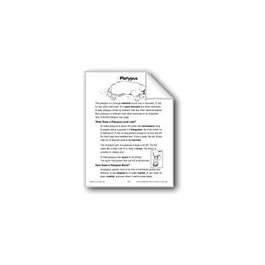 Evan-Moor Educational Publishers Platypus (Life Science/Animals) Language Arts Workbook, Grade 2 - Grade 3 [eBook]