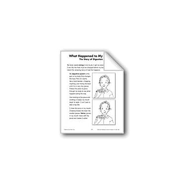 Evan-Moor Educational Publishers What Happened to My Pizza? (Life Science/Human Body, Digestion) Workbook [eBook]