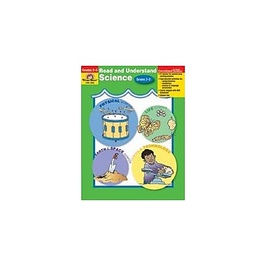 Evan-Moor Educational Publishers Read and Understand Science-3 Language Arts Workbook, Grade 2 - Grade 3 [Enhanced eBook]