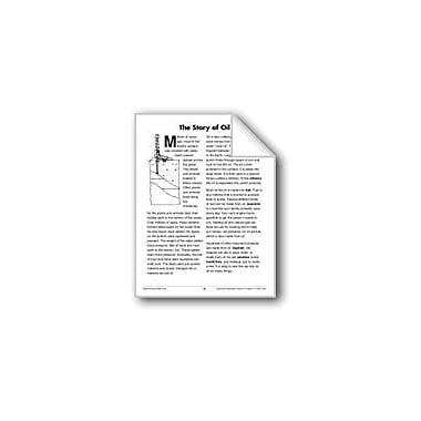 Evan-Moor Educational Publishers The Story of Oil (Earth & Space Science/Fossil Fuels) Workbook, Grade 3 - Grade 4 [eBook]