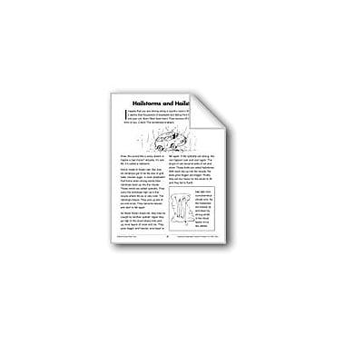 Evan-Moor Educational Publishers Hailstorms and Hailstones (Earth & Space Science/Weather) Workbook, Grade 3 - Grade 4 [eBook]