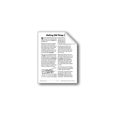 Evan-Moor Educational Publishers Making Old Things New (Earth & Space Science/Recycling) Workbook, Grade 3 - Grade 4 [eBook]