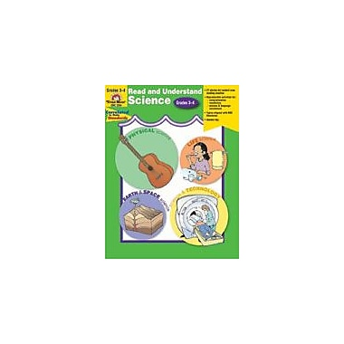 Evan-Moor Educational Publishers Read and Understand Science-4 Language Arts Workbook, Grade 3 - Grade 4 [Enhanced eBook]