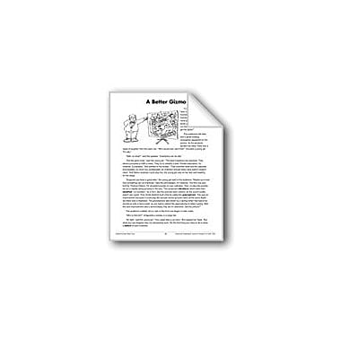 Evan-Moor Educational Publishers A Better Gizmo (Science & Technology/Inventions) Workbook, Grade 4 - Grade 8 [eBook]