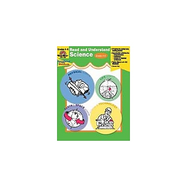 Evan-Moor Educational Publishers Read and Understand Science Language Arts Workbook, Grade 4 - Grade 6 [Enhanced eBook]
