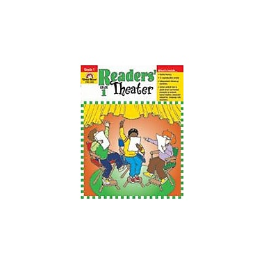 Evan-Moor Educational Publishers Readers' Theater Language Arts Workbook, Grade 1 [Enhanced eBook]