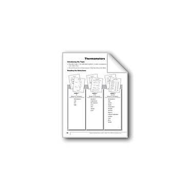 Evan-Moor Educational Publishers Thermometers Language Arts Workbook, Grade 1 [eBook]