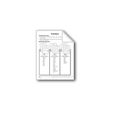 Evan-Moor Educational Publishers Fractions Language Arts Workbook, Grade 2 [eBook]