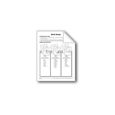 Evan-Moor Educational Publishers Work Songs Language Arts Workbook, Grade 2 [eBook]