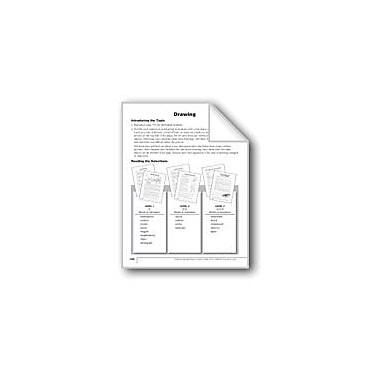 Evan-Moor Educational Publishers Drawing Language Arts Workbook, Grade 4 [eBook]