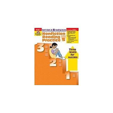 Evan-Moor Educational Publishers Nonfiction Reading Practice Language Arts Workbook, Grade 5 [Enhanced eBook]
