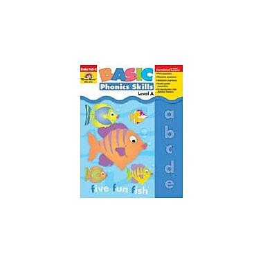 Evan-Moor Educational Publishers Basic Phonics Skills, Level A, Grades PK-K Workbook, Preschool - Kindergarten [Enhanced eBook]
