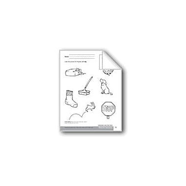 Evan-Moor Educational Publishers Phonemic Awareness: Words That Rhyme/The Top Workbook, Preschool - Kindergarten [eBook]