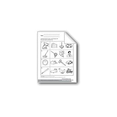 Evan-Moor Educational Publishers Phonemic Awareness: Beginning Sounds Language Arts Workbook, Preschool - Kindergarten [eBook]