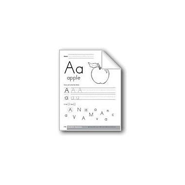Evan-Moor Educational Publishers Traditional/Modern Manuscript Writing: Aa Workbook, Preschool - Kindergarten [eBook]
