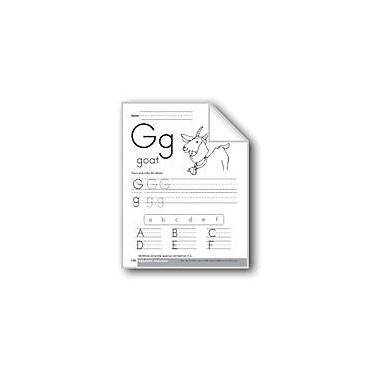 Evan-Moor Educational Publishers Traditional/Modern Manuscript Writing: Gg Workbook, Preschool - Kindergarten [eBook]