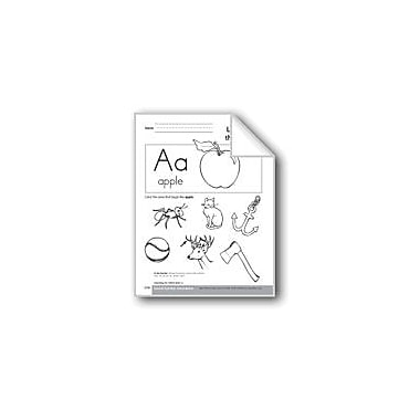 Evan-Moor Educational Publishers Sound-Symbol Association: Initial Short A Workbook, Preschool - Kindergarten [eBook]
