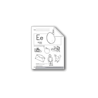 Evan-Moor Educational Publishers Sound-Symbol Association: Initial Short E Workbook, Preschool - Kindergarten [eBook]