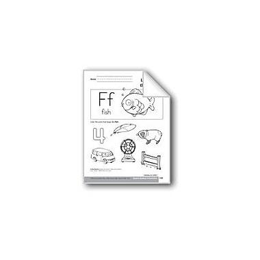 Evan-Moor Educational Publishers Sound-Symbol Association: Initial F Language Arts Workbook, Preschool - Kindergarten [eBook]