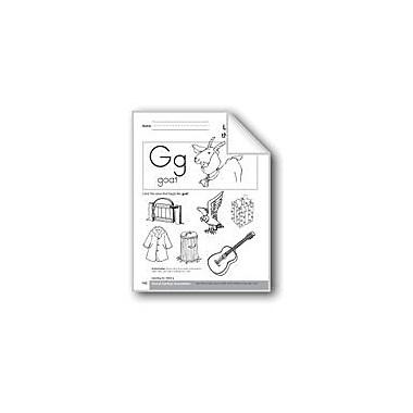Evan-Moor Educational Publishers Sound-Symbol Association: Initial G Language Arts Workbook, Preschool - Kindergarten [eBook]