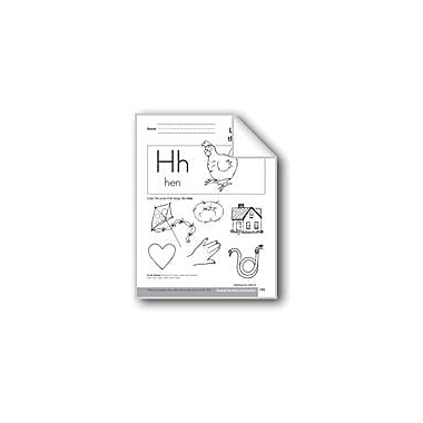Evan-Moor Educational Publishers Sound-Symbol Association: Initial H Language Arts Workbook, Preschool - Kindergarten [eBook]