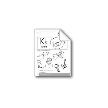 Evan-Moor Educational Publishers Sound-Symbol Association: Initial K Language Arts Workbook, Preschool - Kindergarten [eBook]