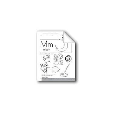 Evan-Moor Educational Publishers Sound-Symbol Association: Initial M Language Arts Workbook, Preschool - Kindergarten [eBook]