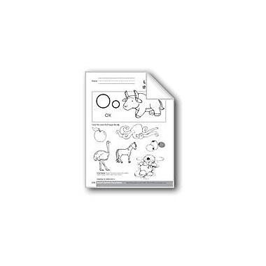Evan-Moor Educational Publishers Sound-Symbol Association: Initial Short O Workbook, Preschool - Kindergarten [eBook]