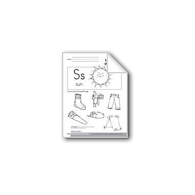 Evan-Moor Educational Publishers Sound-Symbol Association: Initial S Language Arts Workbook, Preschool - Kindergarten [eBook]