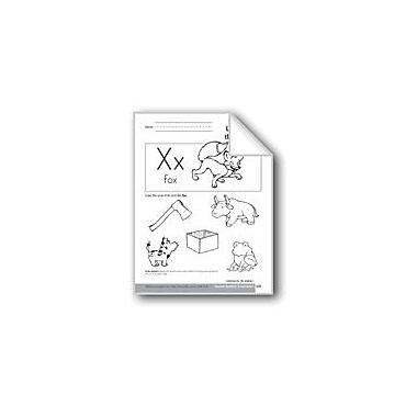 Evan-Moor Educational Publishers Sound-Symbol Association: Ending X Language Arts Workbook, Preschool - Kindergarten [eBook]