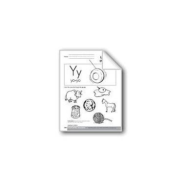 Evan-Moor Educational Publishers Sound-Symbol Association: Initial Y Language Arts Workbook, Preschool - Kindergarten [eBook]