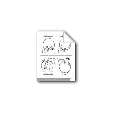 Evan-Moor Educational Publishers Little Alphabet Reader: Aa Apple Language Arts Workbook, Preschool - Kindergarten [eBook]