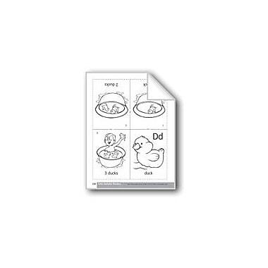 Evan-Moor Educational Publishers Little Alphabet Reader: Dd Duck Language Arts Workbook, Preschool - Kindergarten [eBook]