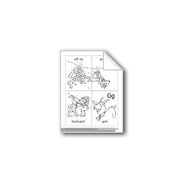 Evan-Moor Educational Publishers Little Alphabet Reader: Gg Goat Language Arts Workbook, Preschool - Kindergarten [eBook]