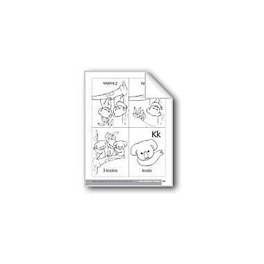 Evan-Moor Educational Publishers Little Alphabet Reader: Kk Koala Language Arts Workbook, Preschool - Kindergarten [eBook]