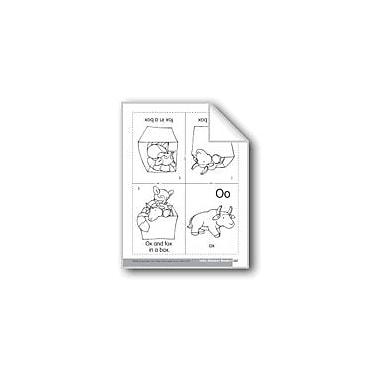 Evan-Moor Educational Publishers Little Alphabet Reader: Oo Ox Language Arts Workbook, Preschool - Kindergarten [eBook]