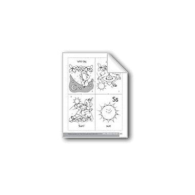 Evan-Moor Educational Publishers Little Alphabet Reader: Ss Sun Language Arts Workbook, Preschool - Kindergarten [eBook]